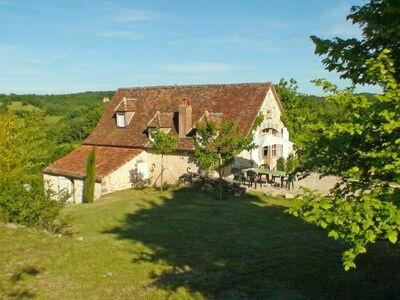 La Grange (CRN100), Maison 7 personnes à Carennac