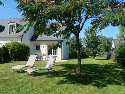 Bungalow confortable, soigneusement meublé près de la Meuse