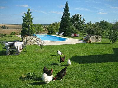 Les Glycines, Maison 9 personnes à Arthonnay