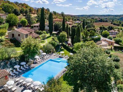 Hillside pretty Home, Maison 8 personnes à Città della Pieve