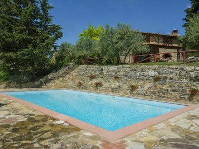 Badia a Passignano, Gite 6 personnes à Badia a Passignano