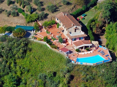 La Chiazza, Villa 10 personnes à Massarosa
