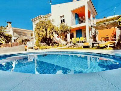 Los Delfines, Villa 12 personnes à Benajarafe