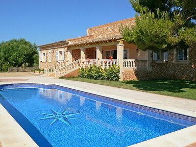 Julia, Villa 8 personnes à Calas de Mallorca