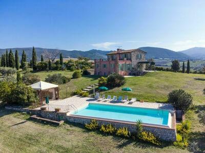 Villa San Martino, Gite 12 personnes à Pomaia