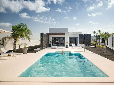Villa Holiday, Maison 6 personnes à Playa Blanca