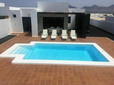 Villa Blanca, Maison 6 personnes à Playa Blanca