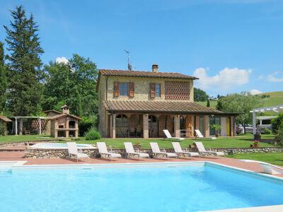 La Voce del Silenzio, Maison 11 personnes à Volterra