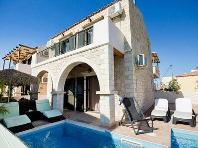 Stalos Villa I, Villa 5 personnes à Agia Marina
