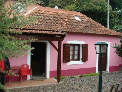 Casa Rosa, Maison 2 personnes à Madeira Camacha
