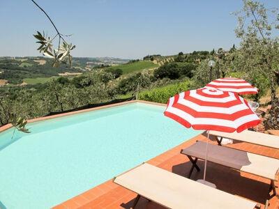 Smeraldo + Rubino, Maison 8 personnes à Montefiridolfi