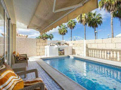 Villa Palm Mar, Maison 8 personnes à Arona