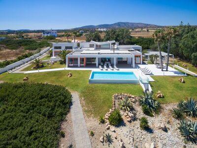 Belle villa à Agia Fotia en Crète près de la plage