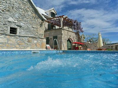 Villa Glicinia, Maison 6 personnes à Brac Donji Humac