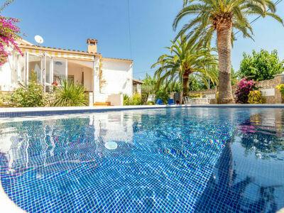 Casa d'Ibis, jolie petite maison de vacances avec sa piscine privée et ses Palmiers