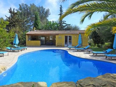 L'Hacienda, Maison 10 personnes à Le Castellet