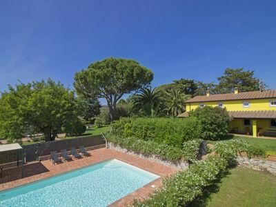 Villa il Pellicano, Maison 10 personnes à San Vincenzo