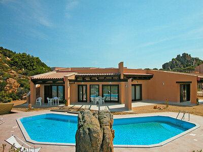 Sette, Villa 10 personnes à Costa Paradiso