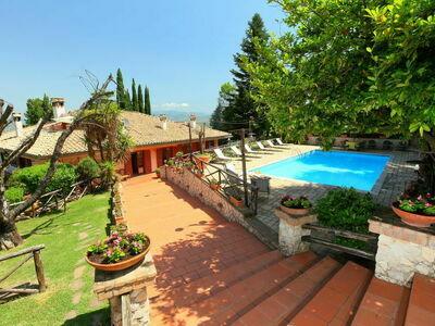 Villa Mina, Villa 10 personnes à Frascati