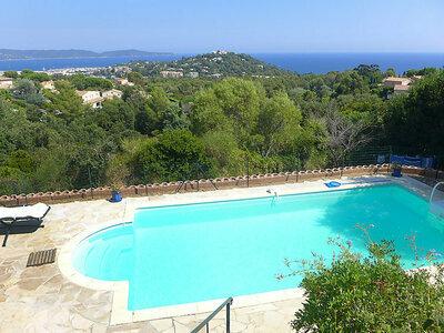 Villa Micheline, Maison 9 personnes à Cavalaire