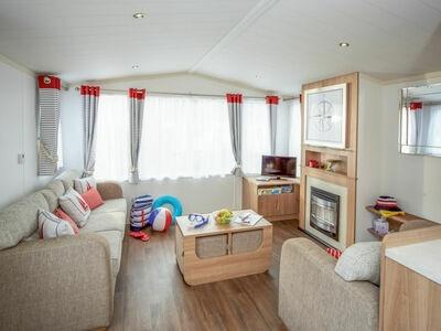 Caravan Perran Sands, Maison 8 personnes à Perranporth