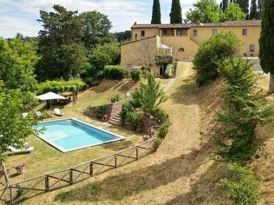 Ghizzano, Villa 8 personnes à Peccioli