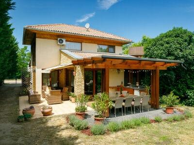 Villa Mediterran, Maison 10 personnes à Balatonboglar Szemes