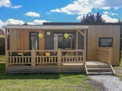 Camping de Veenhoop, Maison 5 personnes à De Veenhoop