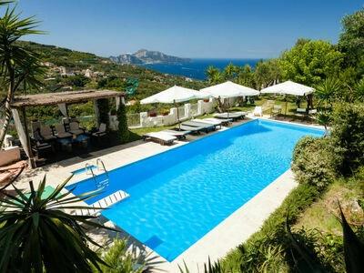 Sole di Capri, Villa 16 personnes à Massa Lubrense