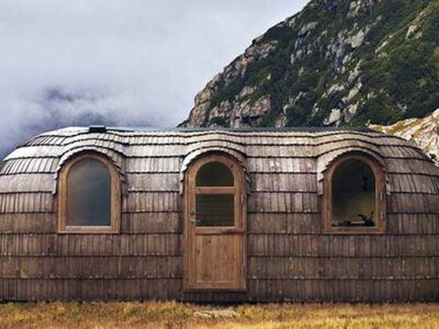 The Glam Cob House, Chalet 4 personnes à Drumnadrochit