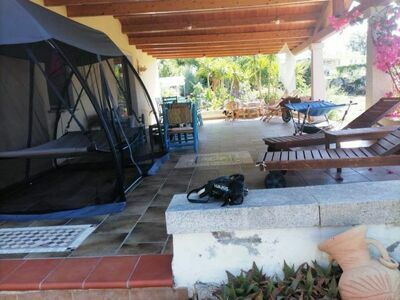 VILLETTA CARROZZA, Maison 7 personnes à Capo Comino