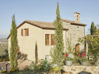 La Smarrita, Maison 10 personnes à Lucignano
