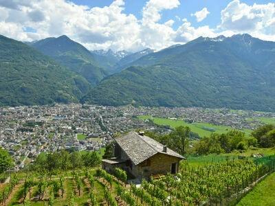 Rustico Rebustella, Maison 5 personnes à Valtellina