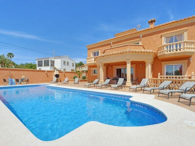 Costatenis, Villa 11 personnes à Calpe Calp