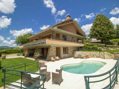Villa Carolina, Villa 11 personnes à Lago di Vico