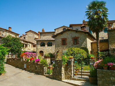 Casa Stella, Gite 6 personnes à Gaiole in Chianti
