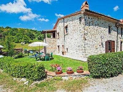 Santa Fiora retreat, Gite 4 personnes à Arcidosso