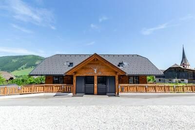 Maison de vacances cosy à Sankt Margarethen im Lungau, sauna