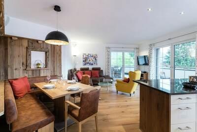 Appartement de luxe avec terrasse situé à Salzbourg