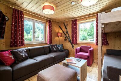 Luxueuse maison de vacances à Saalbach-Hinterglemm. Terrasse