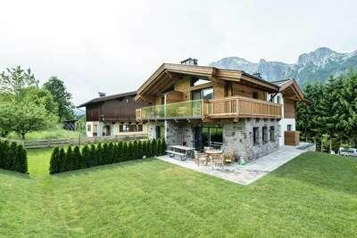 Chalet de luxe à Leogang près du domaine skiable
