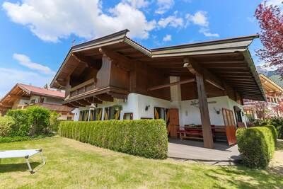 Maison de vacances de charme dans le Tyrol avec jardin