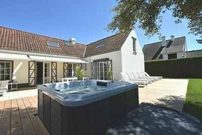 Villa de luxe à Saint-Idesbald avec jacuzzi