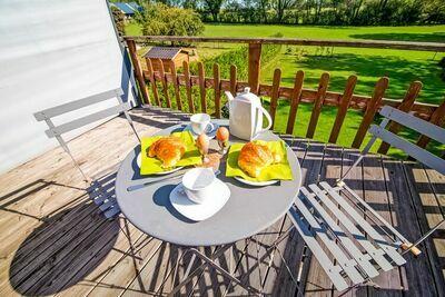 Charmante maison de vacances à Durbuy avec belle terrasse