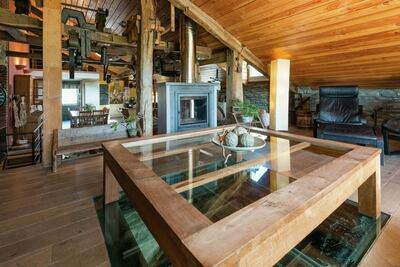 Moulin ancien avec sauna à Bertrix