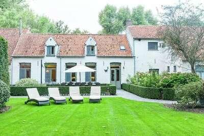 Maison de vacances authentique avec terrasse à Bruges