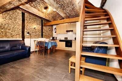 Maison de vacances historique avec terrasse privée, Richelle