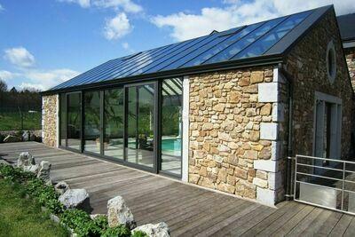 Superbe maison de vacances avec piscine privée à Theux