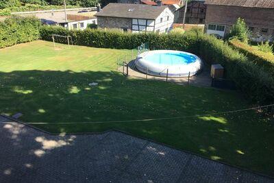 Maison de vacances avec piscine gonflable dans les Ardennes