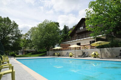 Chalet de luxe moderne avec cheminée et spa privé